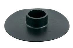 """PVC Kunststoff Flansch B mit 2"""" Bohrung. HF/Ultraschall-schweißbarer Flansch mit 2"""" Bohrung. Wird oft als Seilschlinge für 2"""" Rohre in Wasserbehälter verwendet, z. B. in Wiederverwertungssysteme für Regenwasser."""