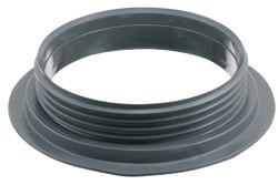 Kunststoffschraubflansch, 146 mm. 146 mm Kunststoffschraubflansch. HF/Ultraschall-schweißbar. Für Flüssigkeiten und Pulver/Granulat in großen und kleinen Containern.