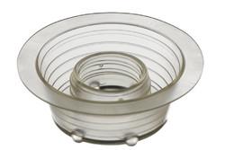 PVC vorversenkter Kunststoff Schraubflansch. HF/Ultraschall-schweißbarer 25 mm versenkter Stutzen. Komplett versenkbar.