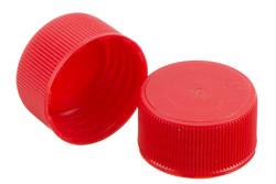 Kunststoff Schraubkappe, 25 mm. PEHD Schraubverschluß mit eingebautem Positionsring.