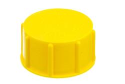 """Kunststoff Schraubverschluß, mit 1½"""" Rohrgewinde. Kunststoff Schraubverschluß mit G1½"""" Rohrgewinde."""
