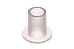 Kunststoff Schlauchanschluß, Gerader für 6 mm Schlauch. Gerader, kleiner schweißbarer Schlauchanschluß für medizinische und allgemeine Zwecke.