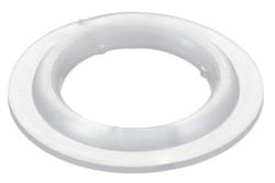 """Kunststoff Rundöse, 5/8"""" (15.8 mm). 5/8"""" (15,8 mm) Kunststoff Rundöse mit runden Flanken. Für Hochfrequenzschweißen optimiert."""