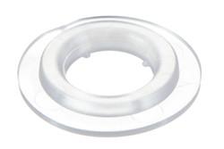 Kunststoff Rundöse, 8 mm. 8 mm Kunststoff Rundöse mit eckigen Flanken. Für Hoch Frequenz (HF) schweißen optimiert.