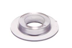 PVC Rundöse, schwer 11/30 mm. 11/30 mm PVC Rundöse mit eckigen Flanken. Strapazierfähig für anspruchsvolle Bereiche. Für Hochfrequenz schweißen optimiert.