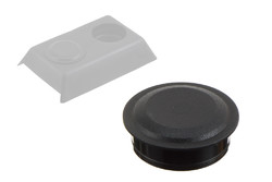 PEHD Cap for shroud 06-215. Cap to cover bolt installation holes. Secure press fit.
