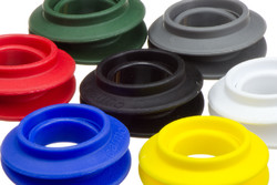 Snap Grommet Set, Ø20 mm. Plastic snap grommet for reinforcement of 20 mm holes in textiles, awnings, tarpaulins, banners etc. Can be inserted manually.