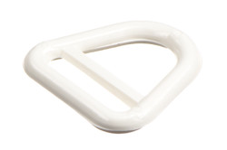 Nylon A-Ring, 20 mm. PA Nylon A-ring suitable for 20 mm webbing