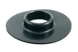 Plastic Flange for 03-634. Support flange, can be used with threaded nozzle, FDA/BGA approved