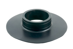 "PVC Flange A. HF/ultrasonic weldable flange with 3"" bore"