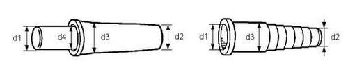 Connecteur de tuyaux et Capuchons
