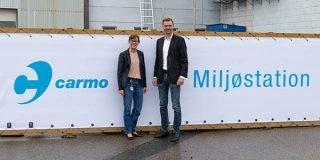 Benedikte Kiær besøgte Carmo A/S