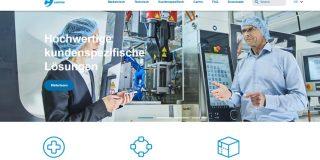 Redesign of Carmo website - German